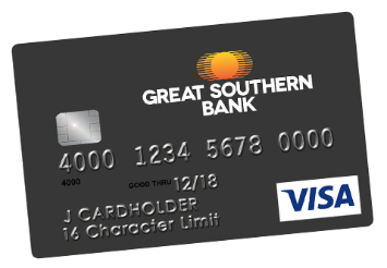 Great southern bank example credit card