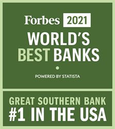 Forbes2021 World's Best Banks - #1 in the USA